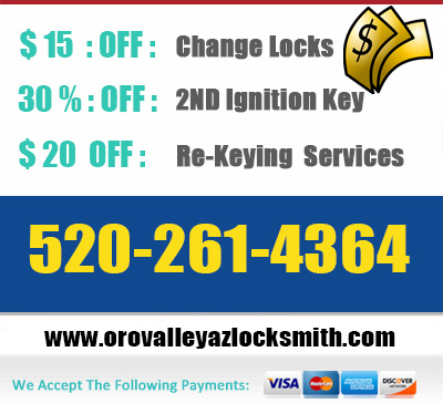 locksmith oro valley offers
